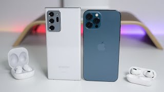 Apple iPhone 12 Pro Max vs Samsung Note20 Ultra 5G - Which Should You Choose?