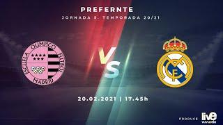 R.F.F.M. - PREFERENTE FÚTBOL FEMENINO (Grupo 1) - Jornada 5 - C.D.E. Olimpico de Madrid 0-4 Real Madrid C.F.