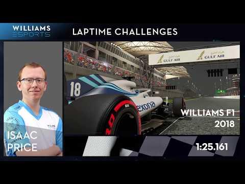 Esports Laptime Challenge #5 - F1 2018, Bahrain