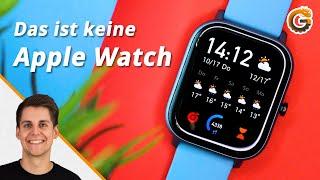 Amazfit GTS: Schärfer als die Apple Watch?! - Test