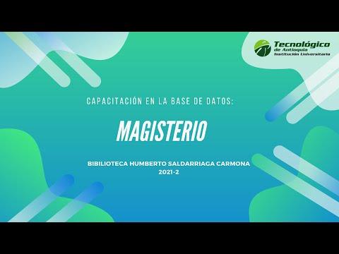 Capacitación base de datos Magisterio