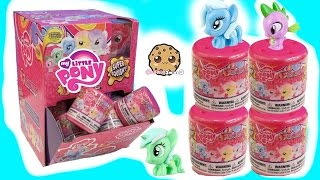Box Of My Little Pony Super Squishy Fashems Surprise Blind Bags - Crystal Ponies - All 6 MLP Toys
