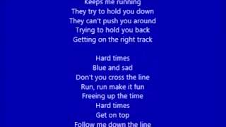 AC/DC - Hard Times (lyrics)