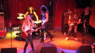The Donnas - Who Invited You - Live from The Note, West Chester, PA - 3/27/10