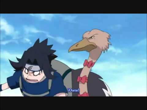 Naruto and Sasuke: Just what does a fox say?