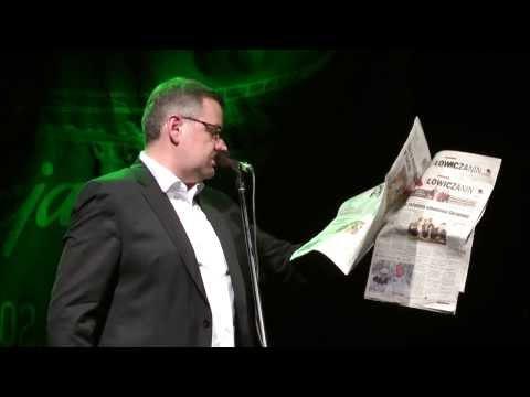 Artur Andrus - Przegląd prasy w Łowiczu