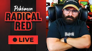 will we beat the first gym? | radical red lol