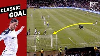 """It's Like He Called His Shot!""—David Beckham's Impossible Angle Free Kick"
