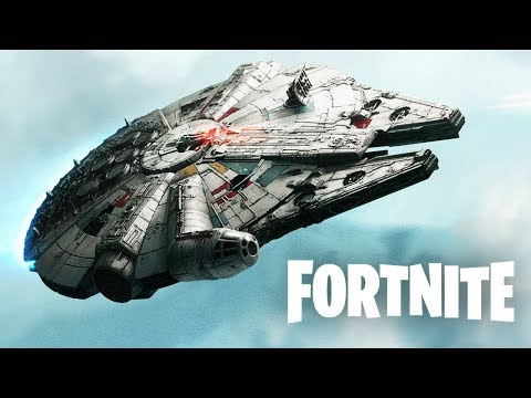 FORTNITE STAR WARS LIVE EVENT