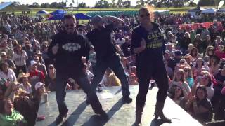 Chris Carr Chris Hawkey Dance Off