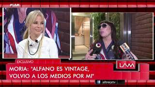 """Moria Casán sin filtro habló de Graciela Alfano: """"Es vintage, siempre te chorea el escenario"""""""