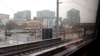preview picture of video 'Northeast Regional 164 arriving at Wilmington, DE 12/27/08'