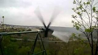 preview picture of video 'Aerogenerador Villalbilla 2'