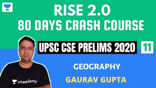 L11: Climate Regions of India Part 2 | 80 Days Crash Course for Prelims 2020 | Gaurav Gupta