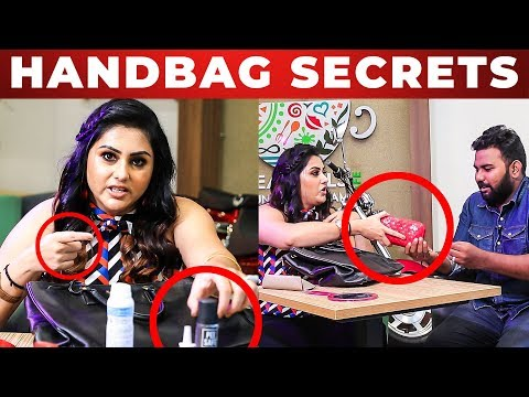 TOILET Spray! | Namitha's HANDBAG Secrets | What's Inside the HANDBAG
