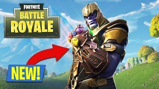 I AM THANOS😍😍 THE END IS NEAR - Fortnite Indonesia