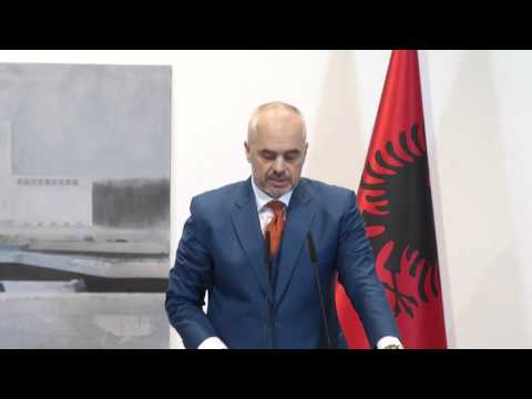 Joint press conference between Federica Mogherini and Edi Rama, Albanian Prime Minister