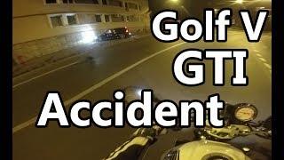 (Motor)BIke Live accident on camera