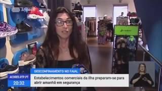 Estabelecimentos comerciais reabrem no Faial, Pico, São Jorge e Terceira com novas regras