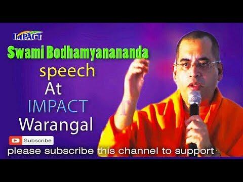 Bad Habits | Swami Bodhamyananda | TELUGU IMPACT Warangal 2017