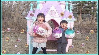 HUGE LOL Easter Surprise Toys Hunt Challenge at the Castle!