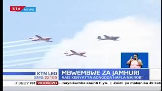 Mbwembwe za jamhuri: Rais Kenyatta aongoza hafla Nairobi
