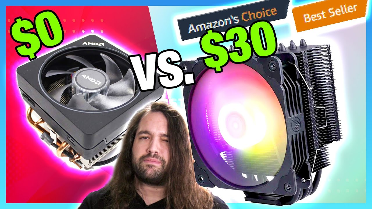 Top Amazon Cooler vs. AMD Stock Cooler: 30 Vetroo V5 Air Cooler Review