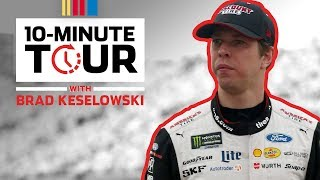 Brad Keselowski makes a PB&J sandwich in the hauler: 10-Minute Tour