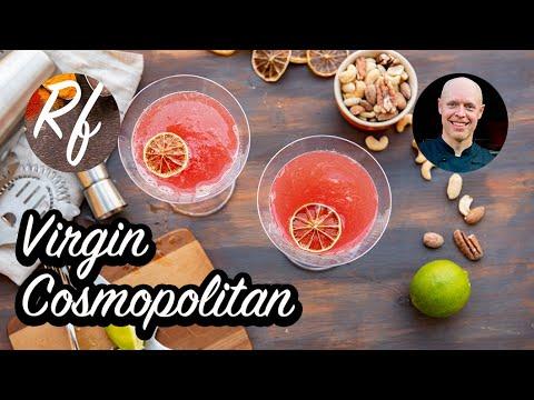Virgin Cosmopolitan är min variant på Cosmopolitan utan alkohol.Här har jag uteslutit vodka samt bytt apelsinlikör mot apelsinsaft. Vidare har jag ökat på mängden tranbärsdryck.Drinken får god syrlig smak av färskpressad lime.>