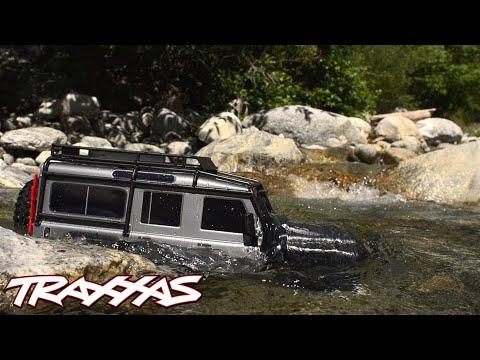 Traxxas TRX-4 Landrover Defender (Presque prêt à être conduite)
