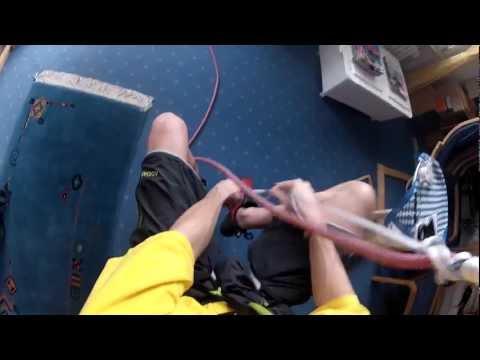 FB Bandklemmknoten - FB Runners Knot - Minimalistisches Aufseilen - FB Band Sling Knot - GoPro