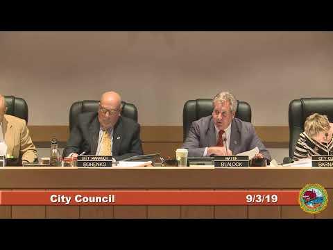 City Council 9.3.2019