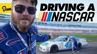 We raced each other in a NASCAR Stock Car | Donut Media