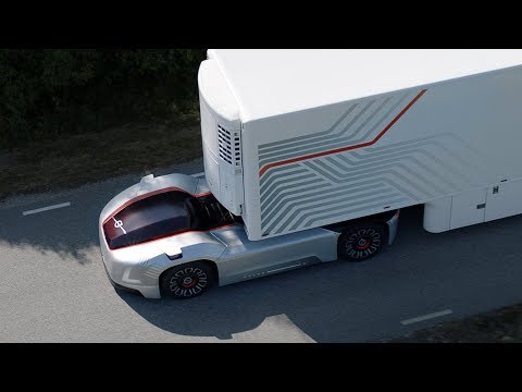 Volvo Trucks – Introducing Vera, the future of autonomous transport