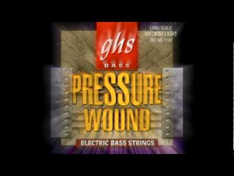 Pressurewound Bass Strings