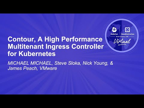 Image thumbnail for talk Contour, A High Performance Multitenant Ingress Controller for Kubernetes