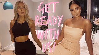 Gambar cover GET READY WITH US! | NIGHT OUT | Sophia and Cinzia