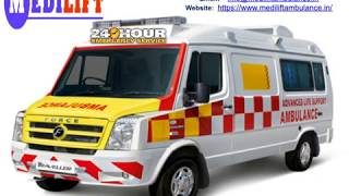 Get Ventilator Ambulance Service in Ranchi and Patna - Medilift