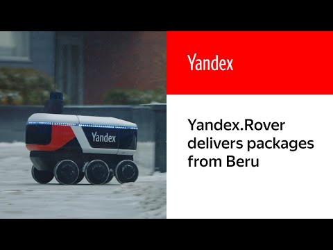 Dalla Russia robot per consegne (Yandex)