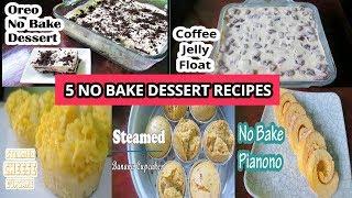 5 No Bake Dessert Recipes
