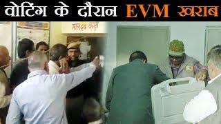 राजस्थान के कई हिस्सों में EVM खराब, नेताओं के साथ जनता भी परेशान