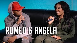 Angela Simmons & Romeo on Divorce, DMs + Growing Up Hip Hop