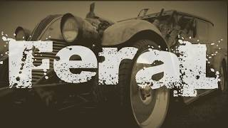 """Feral"" - The Rat Rods and Rusty Relics of Muscle Car Madness 2018 Hot Rod Show."