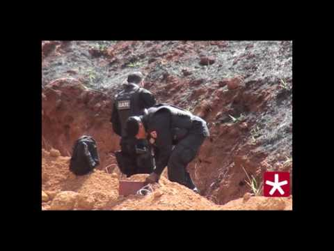 Esquadrão Antibombas detona explosivos deixados em caixas eletrônicos