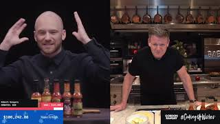 Gordon Ramsay and Sean Evan's Heat Things Up for Make-A-Wish #CookingUpWishes!