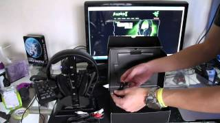 The Razer Chimaera 5.1 Wireless Gaming Headset Unboxing and Setup Video