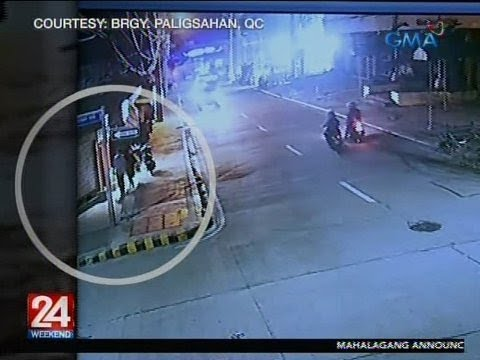 [GMA]  24 Oras: Magkasintahan, ninakawan na, pinagbabaril pa ng apat na holdader