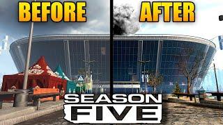 Modern Warfare: New SEASON 5 Teaser (Warzone Stadium Changes)