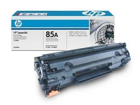 ¿Como recargar un cartucho de Toner hp 85A?