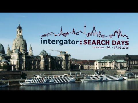 Rückblick auf die intergator Search Days 2016